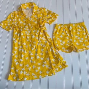 Gap wrap dress with bloomers size 4 GUC